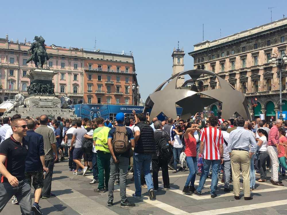 La gran final de Milán